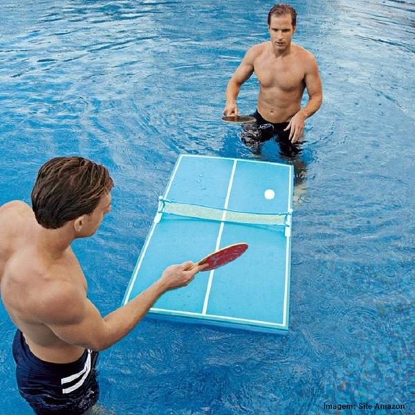 Ventiladores e luminárias Spirit - Blog Myspirit - ping-pong de piscina - itens diferentes com a cara do verão