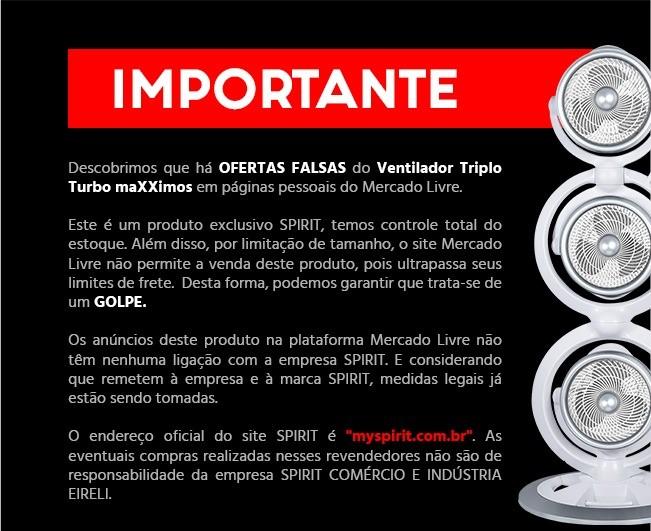 Ventiladores e luminárias Spirit - Blog Myspirit - aviso importante - Cuidado ao fazer compras pela internet