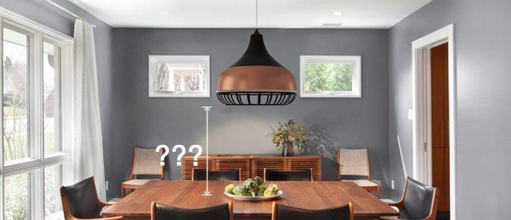 Ventiladores e luminárias Spirit - Blog Myspirit - luminária pendente - luminária pendente Combine - altura ideal para luminária pendente