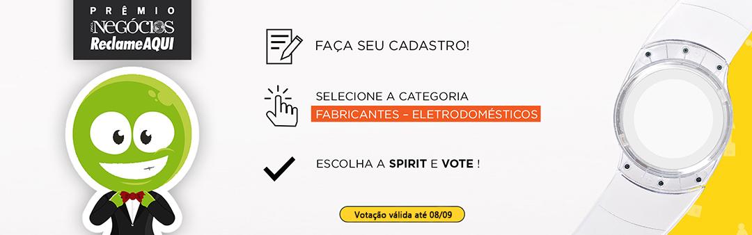 Ventiladores e luminárias Spirit - Blog Myspirit - Votação Prêmio Época Reclame Aqui - Prêmio Época Reclame Aqui 2019