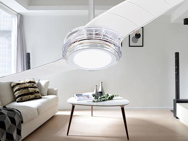 Ventiladores e luminárias Spirit - Blog Myspirit - Ventilador de Teto Spirit 203 Cristal LED - ideias de presentes para o Dia dos Pais