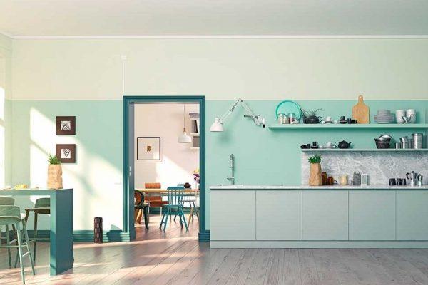 tendências de decoração para 2020 Cozinha Monocromática
