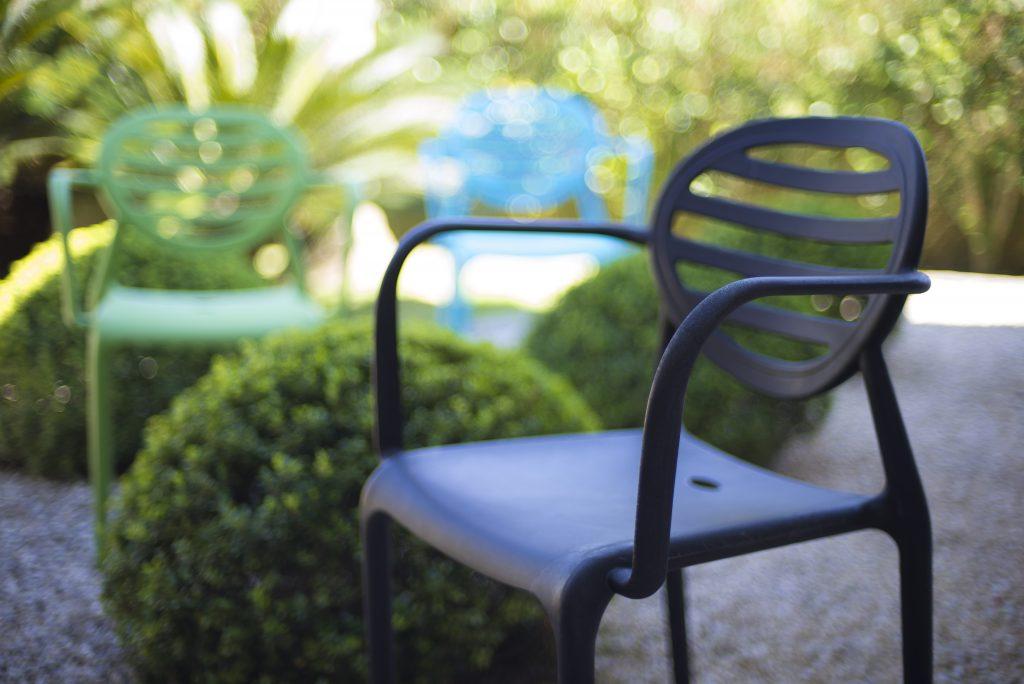 Cadeiras com muito design - Cadeira Stripe SCAB Design