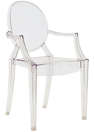 Philippe Starck: cadeira Louis Ghost